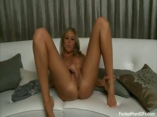 Porno Video of Hot Blonde Samantha Saint Caught Getting Fucked Hard On Home Video