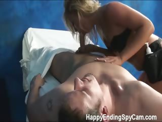 Porno Video of Our Hidden Spy Cameras Caught Ally The Massage Therapist Giving More Than A Massage!