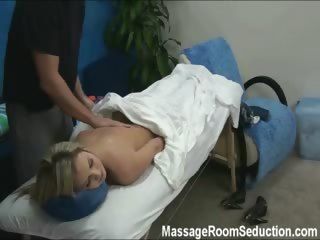 Porno Video of Kiara Seduced And Fucked By Her Massage Therapist On Hidden Camera
