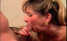 Nasty And Horny Blonde Ripe Slut Gets Her Wet Twat Nailed