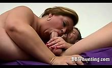 Shy Bbw Gets All Wild
