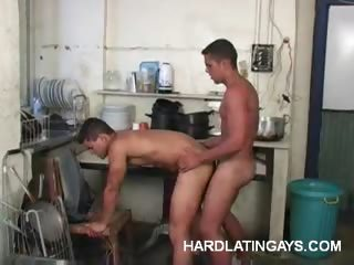 Porno Video of Latin Beefcakes Having Anal Sex