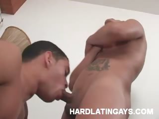 Porno Video of Muscled Latin Men Stripping