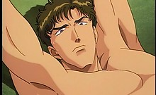Hentai guy in camera on when gets tied in bed