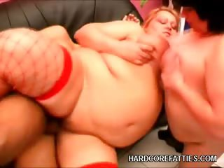 Porno Video of Plumpers Riding A Cock