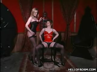 Porn Tube of Mistress Erzebet's Hot Bdsm Slave