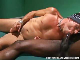 Porno Video of Bi Interracial Fucking