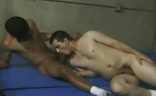 Gay Interracial Cock Gagging