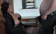 Mother Riding A Cock