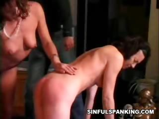 Porn Tube of Sexy Spanked Chicks