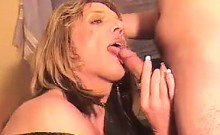 Dirty Shemale Sucking Dick