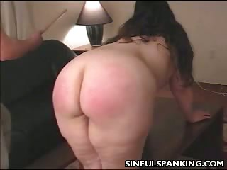 Porn Tube of Lazy Housewife Butt Spanked