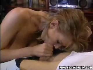 Porno Video of Brooke Juicy Cock Slobbering