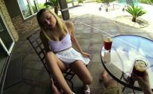 Crazy Natalia gets banged pov style
