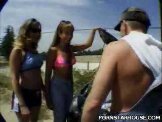 Porno Video of Outdoor Lesbian Porn Stars Fuck