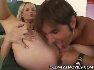 Porn Tube of Chubby Mature Blonde Gets Primed