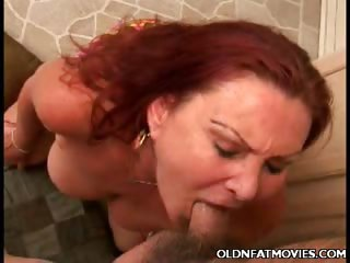 Porn Tube of Redhead Mature Milks Cum