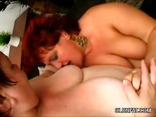 Porno Video of Chunky Redheads Slurping A Cock