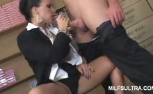 MILF Kendra Sucking Off a Cock