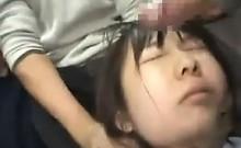 Asian Schoolgirls Getting Facials