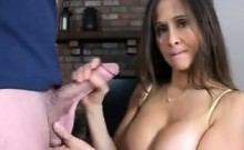 MILF Jerks Her Son In Law Off