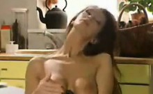 Housewife Masturbating At Home