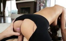 Supple brunette gets her sweet ass fucked