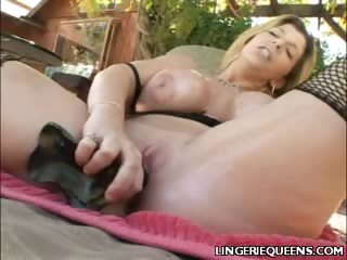 Porno Video of Big Boobed Sara Having Dildo Sex