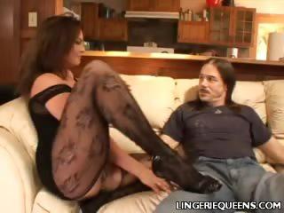 Porn Tube of Venus Lingerie Tease