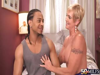 Sex Movie of My, Grandma, What A Big, Black Cock You're Fucking!