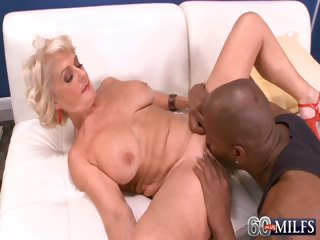 Porno Video of Big Black Cock Makes Georgette Cum Hard!