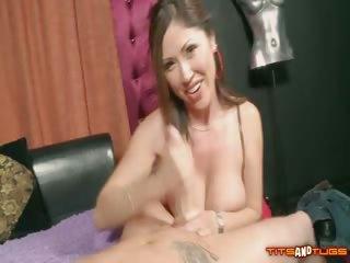 Porn Tube of Hardcore Handjob