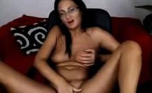 Hot Gilf Mature Babe Masturbates Her Grandma Pussy