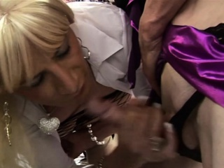 amateur tranny threesome with blowjobs fingering and rimming