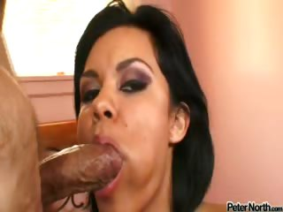must see smoking hot ruby knox with a cock in her mouth