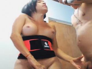 horny tranny couple do anal fuck