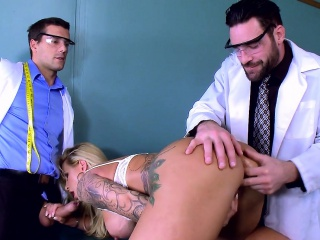 leroyz two doctors fuck ryan connor in the ass