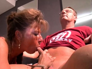 german mature lady fucks her client