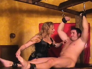 hardcore sadomasochism action as busty slut get bounded