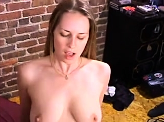 Lesbian Doggystyle fucking with strapon