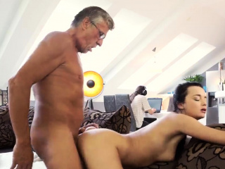 old couple hd and man young girl first time what would you p