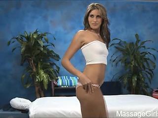 naughty girl kara fucks her massage client after a rub down