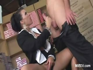 mature milf exposes her boobs